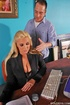 Big titted sales woman Emiliana staying late at…