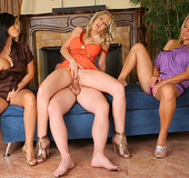 3 hot horny milfs take home their boy toy to tease&hellip;