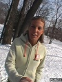 18 young xxx - Hot girl in the park - Picture 1