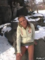 18 young xxx - Hot girl in the park - Picture 6