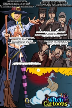 The inquisition of witch's butthole - Sexy cartoons - Picture 1