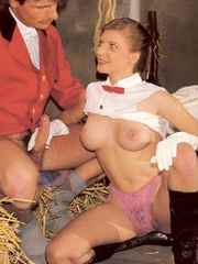 Perfect hairy pussy - Sexy horse riding - XXX Dessert - Picture 12