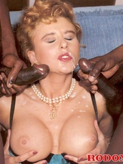 Retro xxx - Two naughty black guys fucking - XXX Dessert - Picture 14