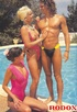 Two sexy seventies ladies sharing a big erection outdoor