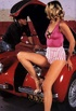 Seventies lady gets fucked hard in a garage by a mechanic