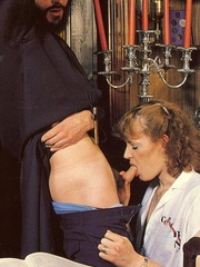 Hairy - Seventies nuns and priests love to - XXX Dessert - Picture 4