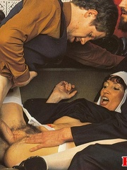 Hairy - Seventies nuns and priests love to - XXX Dessert - Picture 14
