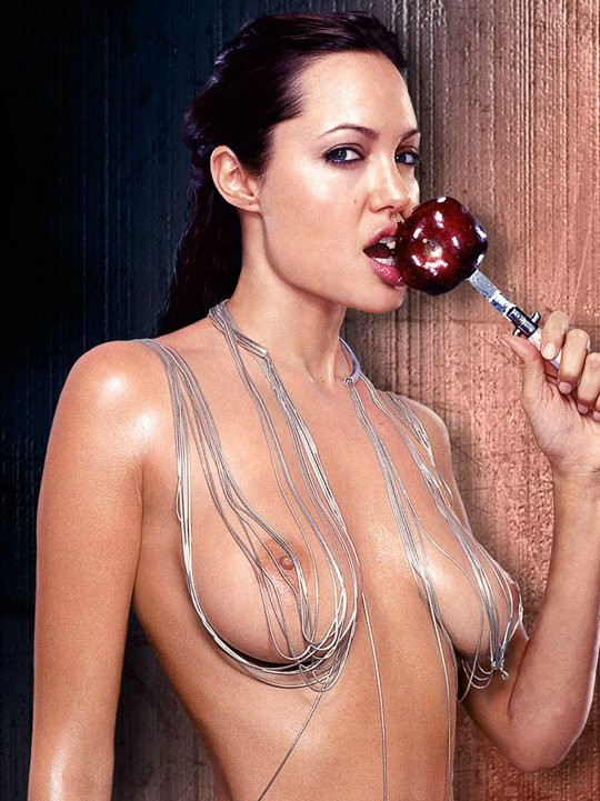 Angelina Jolie Hollywood Actress Nude