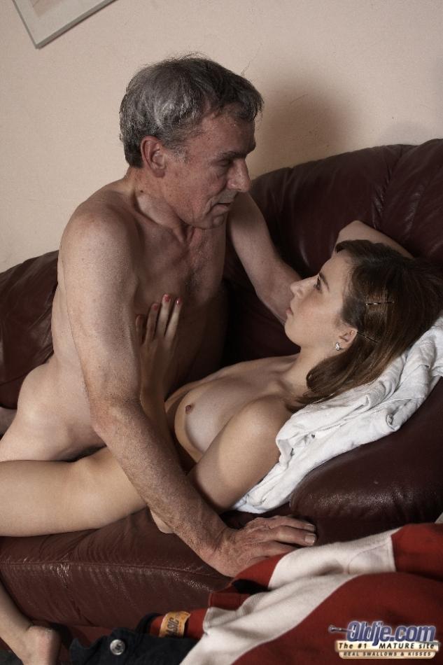 Younger girl dating older man