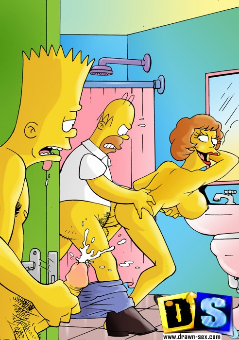 The Simpsons perversion - Cartoon sex porn - XXX Dessert - Picture 1