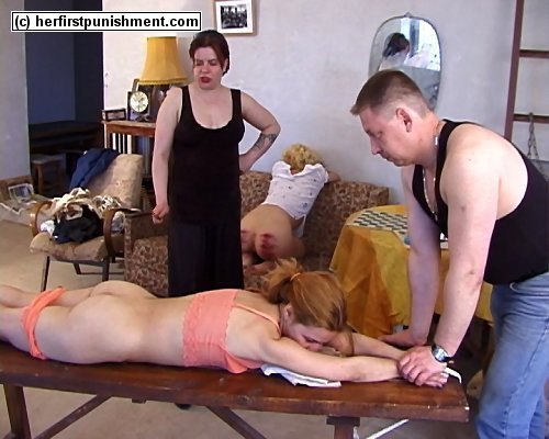 A busty wife punished for her slutty experiments in adult mo 9