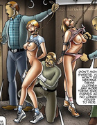Perfect body toon slave girl forced to take hard…