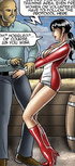 Perverted toon master torturing his bondaged slave…