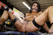 gushing whore fucked garage