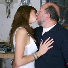 Babe enjoys an older cock inside - Old man - XXX Dessert - Picture 8