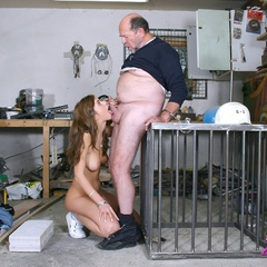 Babe enjoys an older cock inside - Old man - XXX Dessert - Picture 9