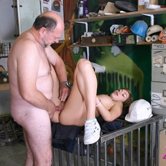 Babe enjoys an older cock inside - Old man - XXX Dessert - Picture 10
