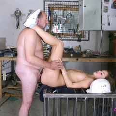 Babe enjoys an older cock inside - Old man - XXX Dessert - Picture 11