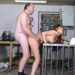 Babe enjoys an older cock inside - Old man - XXX Dessert - Picture 12