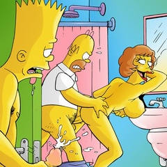 naked chicks from the simpsons