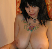 Stunning busty sweetie shwing off her perfect big…