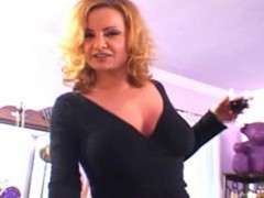 Dirty cougar gets her tight pussy drilled wickedly