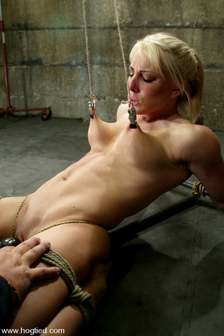 bobbi's first bdsm experience
