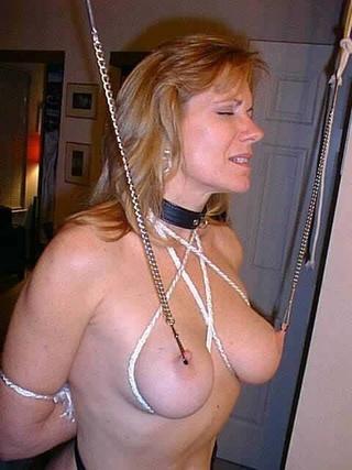 Bondage amateur housewife