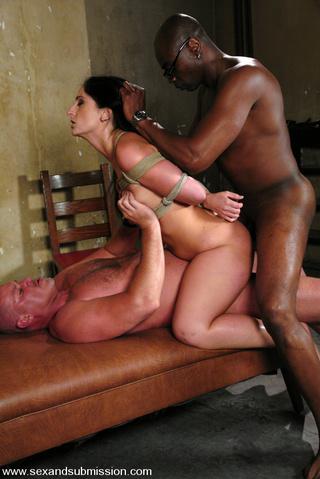 girl bondage fucked black