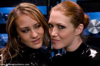 red head blonde girls