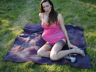 jane outdoors pink negligee