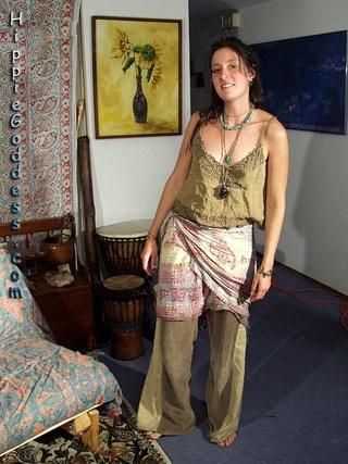 Goddess nude redhead hippie