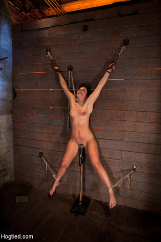 wrist suspension impaled orgasmos