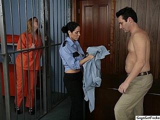 dominatrix fucks her man
