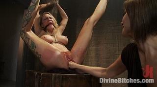 seductive lesbian dominatrix boss