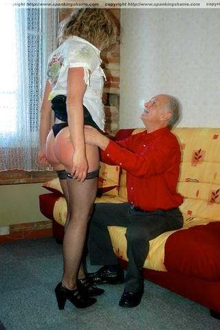 misbehaving spanking