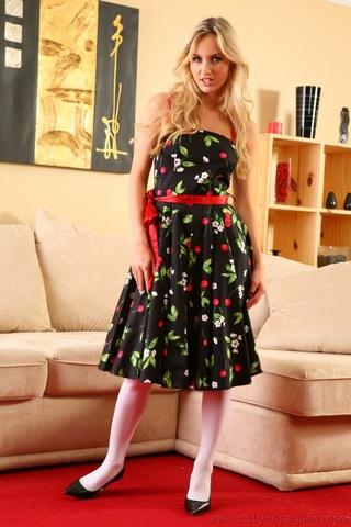 natasha wearing her beautiful