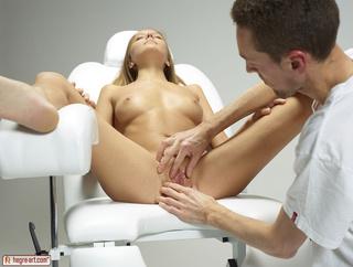 doctor enjoying fringe benefits