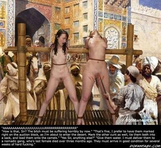 asked stupid slave hesitated