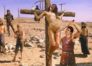 roman slave crucified and
