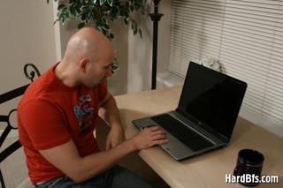 bald gay dude naked