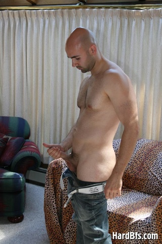 bald gay dude naked
