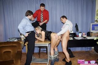 office guys working secretary