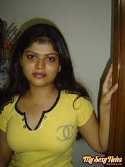 Neha in her favorite yellow western outfits