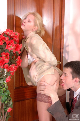 naughty business woman ready